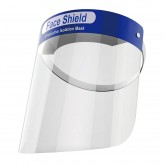 Allure Face Shield Protective Mask - Blue