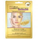 SatinSmooth LuxGold Foil Sheet Mask