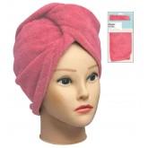 Fromm Diane Microfiber Hair Turban Coral