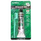 Clubman Moustache Wax 0.5oz - Clear
