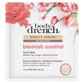 Body Drench Blemish Control No-Mess Mud Sheet Mask