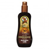 Australian Gold Spray Gel Sunscreen Bronzer 8oz