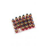 Magnetic Roller Tray Holds 12 Dozen+rack