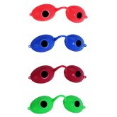 Sunnies Tanning Goggles Neon Singles Pack