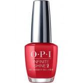 OPI Infinite Shine Big Apple Red 0.5oz