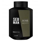 SEB MAN The Purist Anti-Dandruff Shampoo 8.5oz