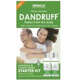 Segals Dandruff Flake Removal Starter Kit 4oz